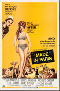 """Movie Posters:Comedy, Made in Paris & Other Lot (MGM, 1966). One Sheets (2) (27"""" X 41""""). Comedy.. ... (Total: 2 Items)"""