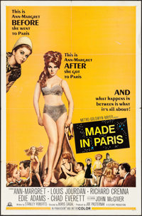 "Made in Paris & Other Lot (MGM, 1966). One Sheets (2) (27"" X 41""). Comedy. ... (Total: 2 Items)"