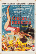 "Movie Posters:Horror, Circus of Horrors (American International, 1960). One Sheet (27"" X41""). Horror.. ..."