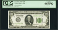 Fr. 2150-L $100 1928 Federal Reserve Note. PCGS Gem New 66PPQ