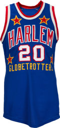 Basketball Collectibles:Uniforms, 1970's Marques Haynes Game Worn Harlem Globetrotters Jersey....