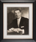 Baseball Collectibles:Photos, 1940's Joe DiMaggio Original Oversized Studio Photograph - One ofhis Most Exquisite Images!...