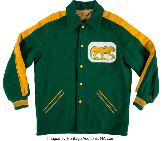 f863cc22694 1972-75 Chicago Cougars (WHA) Jacket.... Hockey Collectibles Others ...
