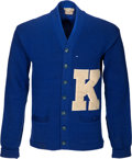 Basketball Collectibles:Others, 1950-53 Lou Tsioropoulos University of Kentucky Letterman'sSweater....