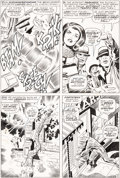 Original Comic Art:Panel Pages, Jack Kirby and Vince Colletta Thor #152 Story Page 3Original Art (Marvel, 1968)....