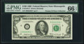 Small Size:Federal Reserve Notes, Fr. 2164-I* $100 1969 Federal Reserve Note. PMG Gem Uncirculated 66 EPQ.. ...