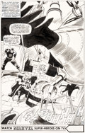 Original Comic Art:Splash Pages, Gene Colan and Frank Giacoia Daredevil #21 Splash Page 12 Original Art (Marvel, 1966)....