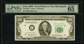 Small Size:Federal Reserve Notes, Fr. 2159-I* $100 1950B Federal Reserve Note. PMG Gem Uncirculated 65 EPQ.. ...