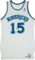 Basketball Collectibles:Uniforms, Circa 1986-87 Brad Davis Game Worn Dallas Mavericks Jersey. . ...