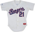 Baseball Collectibles:Uniforms, 1987 Ruben Sierra Game Worn Texas Rangers Jersey. . ...