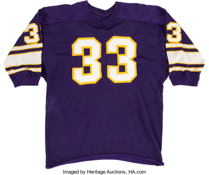 huge discount b561a f3584 1962-67 Minnesota Vikings Game Worn Jersey Attributed to Mel ...