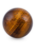 Lapidary Art:Eggs and Spheres, Tiger's-Eye Sphere. South Africa. 2.25 inches (5.72 cm) indiameter. ...