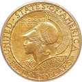 Commemorative Gold, 1915-S $50 Panama-Pacific 50 Dollar Round MS66 PCGS Secure. CAC....