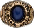 Baseball Collectibles:Others, 1977 Major League Baseball All-Star Game Ring.. ...