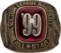 Baseball Collectibles:Others, 1999 Major League Baseball All-Star Game Ring.. ...