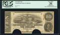 Confederate Notes:1863 Issues, T59 $10 1863 PF-16 Cr. 437.. ...