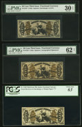 Fractional Currency:Third Issue, Six Third Issue 50¢ Justice Fractionals.. ... (Total: 6 notes)