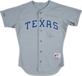 Baseball Collectibles:Uniforms, 1990 Kevin Brown Game Worn Texas Rangers Jersey. . ...