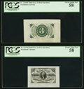 Fractional Currency:Third Issue, Fr. 1227SP 3¢ Third Issue PCGS Choice About New 58;. Fr. 1226SP 3¢ Third Issue PCGS Choice About New 58.. ... (Total: 2 notes)