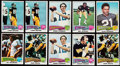 Football Cards:Sets, 1975 Topps Football Complete Sets (2). ...