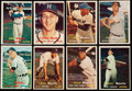 Baseball Cards:Lots, 1957 Topps Baseball Collection (176) With Stars and HOFers. ...