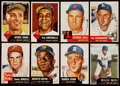Baseball Cards:Lots, 1953 Topps Baseball Collection with Mays (43). ...