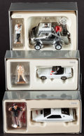 "Movie Posters:James Bond, James Bond Corgi Classics (Corgi, 1997). Die-Cast Model Vehicles(3) (1:36 & 1:43 Scale) in Original Packaging (8.5"" X 3"" X ...(Total: 3 Items)"