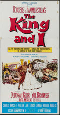 "Movie Posters:Musical, The King and I (20th Century Fox, R-1961). Three Sheet (41"" X 79""). Musical.. ..."