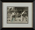 Baseball Collectibles:Photos, 1960's Mickey Mantle Signed Photograph, PSA/DNA NM-MT 8....