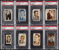 Non-Sport Cards:Lots, 1930-1991 Clark Gable PSA Graded Collection (22). . ...