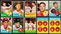 Baseball Cards:Lots, 1963 Topps Baseball Collection (473) With Stars. ...