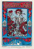 Music Memorabilia:Posters, Grateful Dead Concert Poster First Printing Signed By Mouse &Kelley FD-26 (Family Dog, 1966). ...