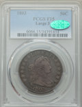 Early Half Dollars: , 1803 50C Fine 15 PCGS. CAC. PCGS Population: (56/457). NGC Census:(22/212). Mintage 188,234. ...
