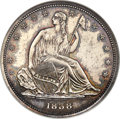 1838 P50C Seated Liberty Half Dollar, Judd-79A, Pollock-86, Low R.7 PR63 NGC....(PCGS# 11328)