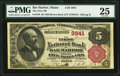 National Bank Notes:Maine, Eden, ME - $5 1882 Brown Back Fr. 470 The First NB of Bar HarborCh. # 3941. ...