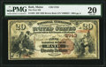 National Bank Notes:Maine, Bath, ME - $20 1882 Brown Back Fr. 493 The First NB Ch. # 2743. ...