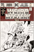 Original Comic Art:Covers, Joe Orlando and Bill Draut Weird Mystery Tales #24 Cover Original Art (DC, 1975). ...