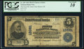 National Bank Notes:Michigan, Saint Clair Shores, MI - $5 1902 Plain Back Fr. 609 The First NB Ch. # 12661. ...