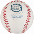 Autographs:Baseballs, 2008 Yankee Stadium Derek Jeter Single Signed Baseball. . ...