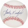 Autographs:Baseballs, Sandy Koufax Single Signed Baseball.. ...