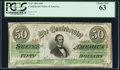 Confederate Notes:1863 Issues, T57 $50 1863 PF-3 Cr. 408 .. ...