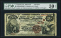 National Bank Notes, Saint Louis, MO - $10 1882 Brown Back Fr. 484 The NB of CommerceCh. # (M)4178. ...