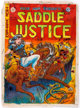 Graham Ingels Saddle Justice #6 Cover Color Guide (EC Comics, 1949)