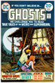 Nick Cardy Ghosts #23 Color Approval Proof (DC Comics, 1974)