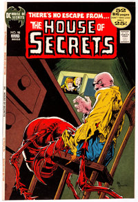 Michael William Kaluta The House of Secrets #98 Cover Approval Proof (DC Comics, 1972)