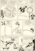 Original Comic Art:Panel Pages, Jack Kirby and Paul Reinman X-Men #1 Story Page 3 BeastOriginal Art (Marvel, 1963)....
