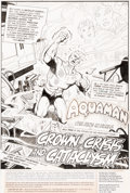 Original Comic Art:Splash Pages, Jim Aparo Adventure Comics #448 Splash Page 1 Original Art(DC, 1976)....