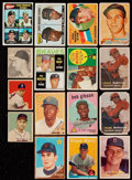 Baseball Cards:Lots, 1948-75 Bowman/Topps Stars & HoFers Rookie Collection (31) WithSigned 1966 Topps Jim Palmer....