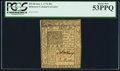 Colonial Notes:Delaware, Delaware January 1, 1776 20s PCGS About New 53PPQ.. ...