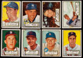 Baseball Cards:Lots, 1952 Topps Baseball High-Numbers Collection (18) With Campanella....